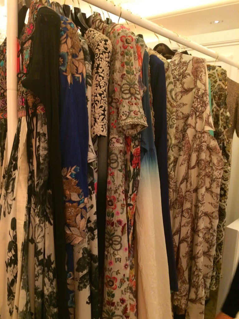 Anamika Khanna collection on display