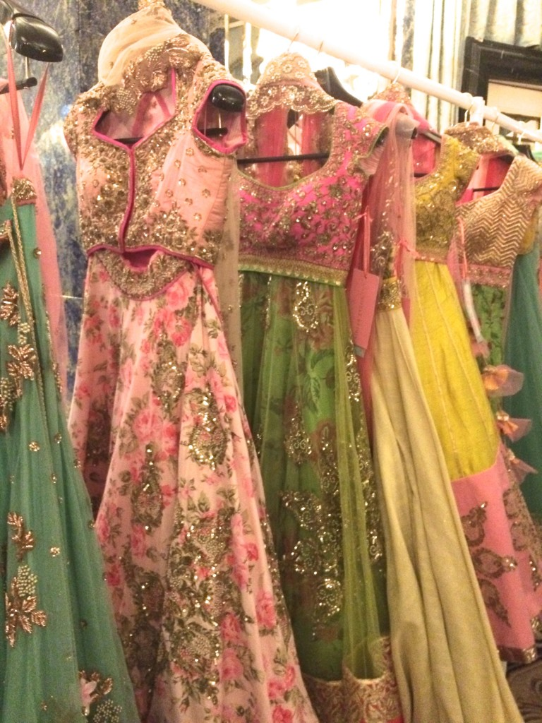 Anushree Reddy  collection on display